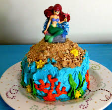 walmart little mermaid cake decorating of party
