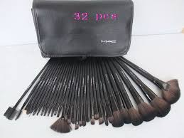 makeup set collection outlet apply black mac 32pcs brushes