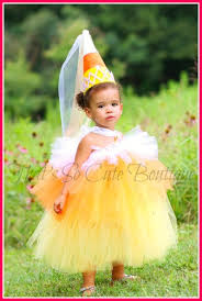 Candy Corn Costume Candy Corn Tutu Dress Halloween Princess Costume