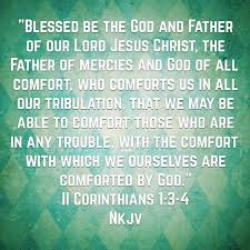 May The God Of All Comfort My Psalms To The King