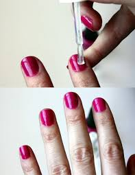 how to manicure at home