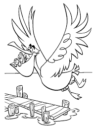 finding nemo nigel fly finding nemo coloring pages