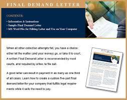 free final demand letter and tutorial stevens u0026 ricci