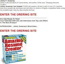 Amazing Resume Creator by Best Resume Writer Software