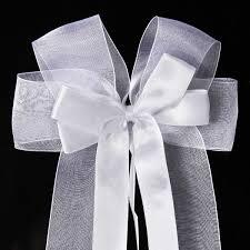 noeud de voiture mariage 10x noeud papillon ruban satin ruban tulle pr mariage voiture