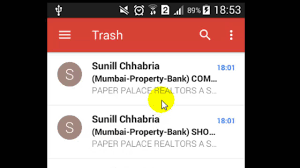 empty trash on android how to empty the trash in gmail android app