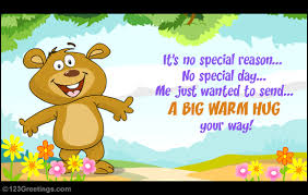 a big warm hug free hugs ecards greeting cards 123 greetings