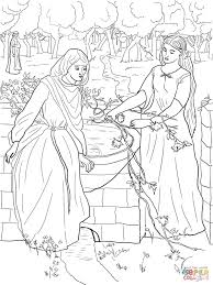 rachel and leah coloring page free printable coloring pages