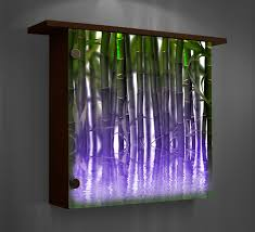 lighted pictures wall decor lighted wall decor color changing lights modern home decor intended