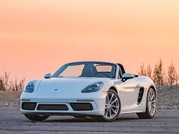 porsche sports car performance car best buy of 2018 kelley blue book