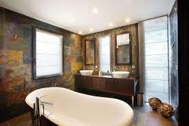 Natural Stone Bathroom Designs Tile Backsplash Shower Room Mix - Bathtub backsplash