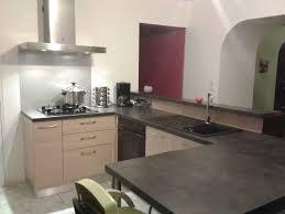 cuisine grise plan de travail noir cuisine plan de travail noir