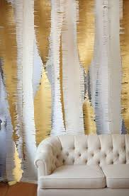 Gold Wall Decor by Handmade Gold Paper Backdrop For 2016 New Years Wall Decoration