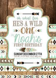 tribal wild one first birthday party little boy baby shower