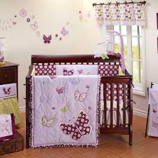 8 best purple butterfly crib bedding images on pinterest baby