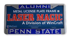 penn state alumni license plate penn state metal alumni license plate nittany lions psu