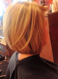 chunky highlights u0026 stacked bob short hair i do hair