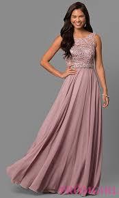 chiffon dress laced bodice chiffon prom dress promgirl