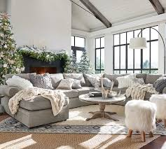pottery barn livingroom ruched faux fur throw ivory pottery barn