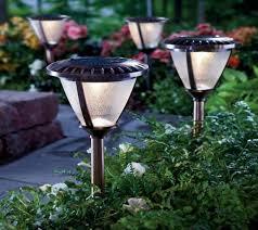 brightest solar powered landscape lights super bright yard lamp