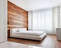 chambre en bois déco de chambre moderne avec meubles et surfaces en bois