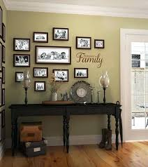 ideas for displaying photos on wall how to display family photos on wall kuahkari com