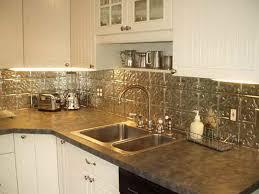 Tin Backsplash Kitchen Pressed Tin Backsplash Fireplace Basement Ideas