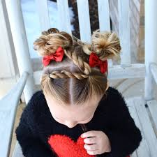 twist hairstyle zigzag toddler hairdo easy and cute