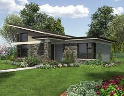 Patio House Plans Contemporary One Story House Plans