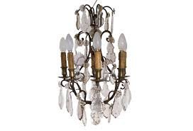 Crystal And Bronze Chandelier Antique Crystal French Bronze Chandelier Omero Home