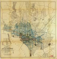 Street Map Of Washington Dc by 1891 Map Of Street Sweeping Ghosts Of Dc