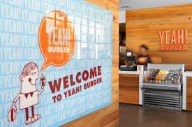 yeah burger finds new home in brentwood u0027s hill center eater