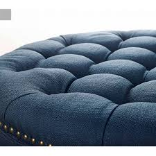 incredible wonderful navy tufted ottoman 94 navy blue tufted