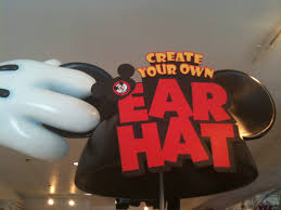 create your own mickey mouse ear hat at downtown disney disney