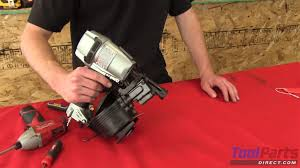Paslode Roofing Nailer by How To Replace The Feeder Spring On A Hitachi Roofing Nailer