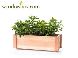 Wooden Window Flower Boxes - redwood planter box redwood planters wooden window boxes