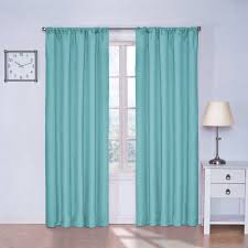 Kids Room Curtains by Eclipse Kids Kendall Blackout Window Curtain Panel Walmart Com