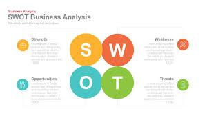Fishbone Diagram Template Powerpoint Free by Swot Business Analysis Powerpoint Keynote Template Slidebazaar