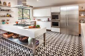 black white kitchen floor tile best kitchen designs