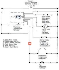 freezer thermostat wiring diagram reach in freezer wiring diagram