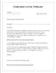 3 complaint letter template budget template letter