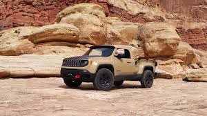 2018 jeep comanche pickup 2017 wranglers and renegades driving the 2016 easter jeep safari