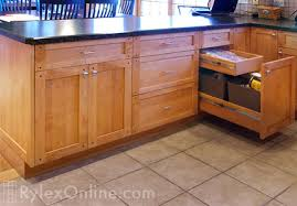 Recycled Kitchen Cabinets Kitchen Recycling Pullout Trash Cabinets Orange County Ny