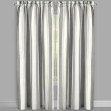 willow branch farmhouse country stripe window curtains set of 2