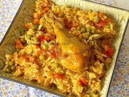 cuisiner riz riz au poulet cuisine algerienne le cuisine de samar