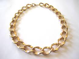 large gold link necklace images 52 big gold link necklace large gold chain necklace napier shiny jpg