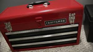 Crafstman by My New Craftsman Tool Box And Tools Youtube