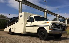 Ford F350 Ramp Truck - racecarsdirect com vintage race transporter ford f350