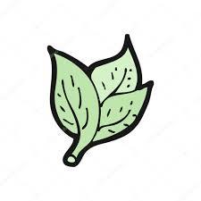 basil leaves cartoon u2014 stock vector lineartestpilot 14927517