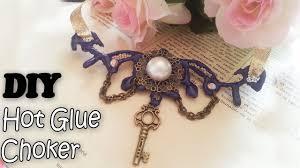 diy pendant choker necklace images Easy hot glue choker diy victorian gothic pendant jpg